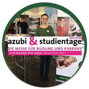 azubi&studientage | Leipziger Messe, Halle 5, 09.-10.11.2018
