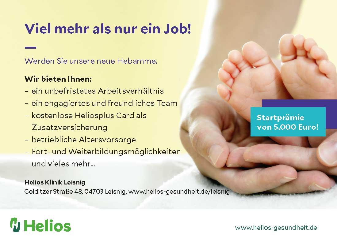 Hebammensuche | HELIOS